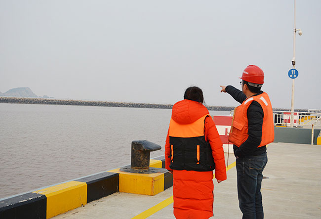 ZCT-CX100 In-place Inclinometer Used for Sea Reclamation in Yangshan Deepwater Port Project