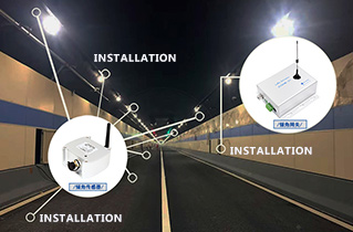 ZC LoRa Sensor ZCT800ML-215SR Ensures the Tunnel Safety of Wenyi West Road in Hangzhou