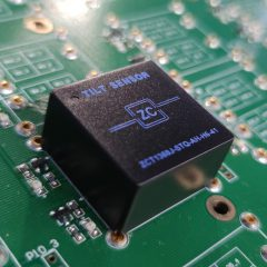 PCB-mount tilt sensor for solar tracker