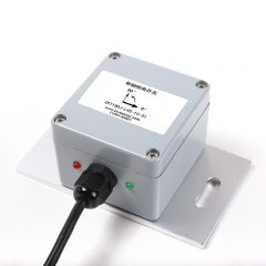 Single-axis tilt switch with angle alarm
