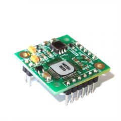 Dual-axis high accuracy inclinometer bare board
