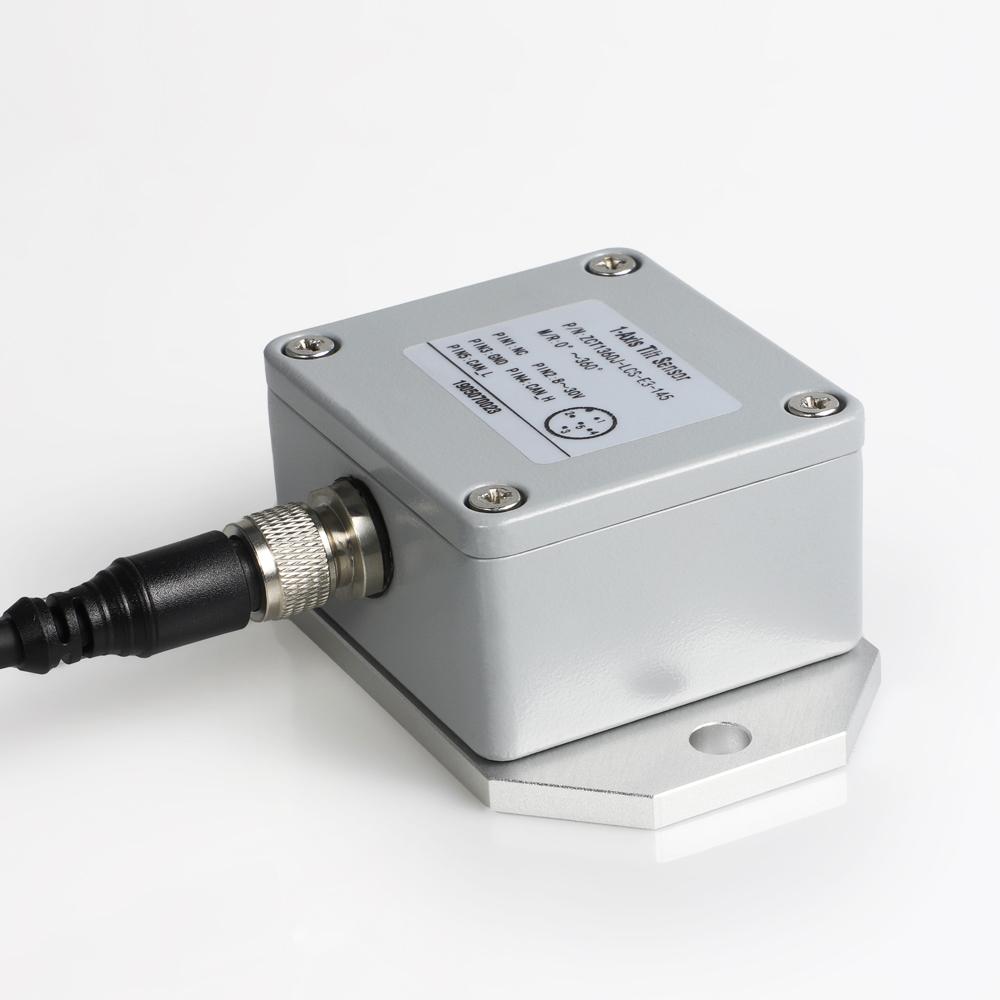 » 0-360° CAN bus output single-axis tilt sensor