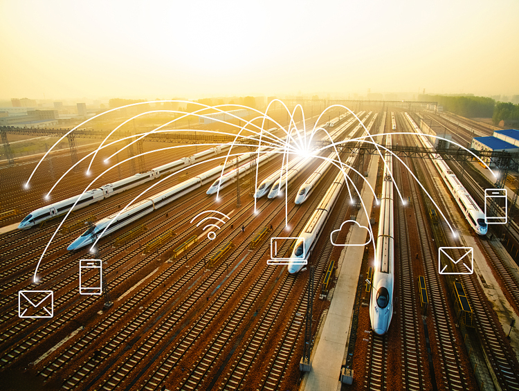 ZC High precision Lorawan wireless tilt sensor helps China's high speed train